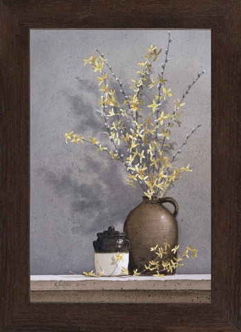 Ray Hendershot - Forsythia (Framed)