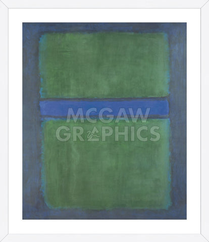 Untitled, 1957 (Framed) -  Mark Rothko - McGaw Graphics