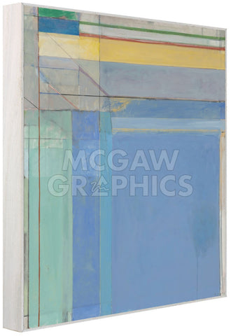 Ocean Park #79, 1975 (Framed) -  Richard Diebenkorn - McGaw Graphics
