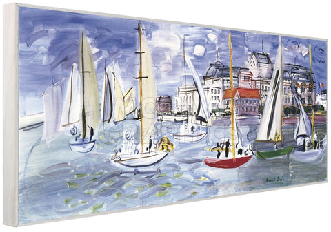 Regates dans le Port de Trouville  (Framed) -  Raoul Dufy - McGaw Graphics