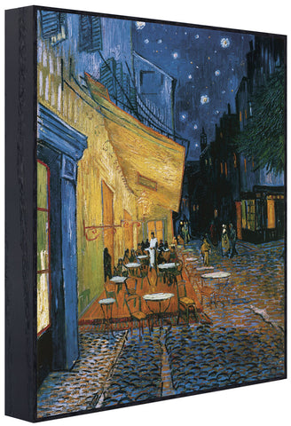 Cafe Terrace at Night (Framed) -  Vincent van Gogh - McGaw Graphics