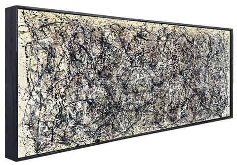 One, Number 31  (Framed) -  Jackson Pollock - McGaw Graphics