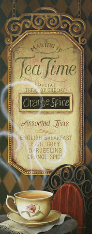 Tea time Menu -  Lisa Audit - McGaw Graphics