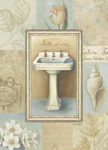 Tranquil Bath I -  Lisa Audit - McGaw Graphics