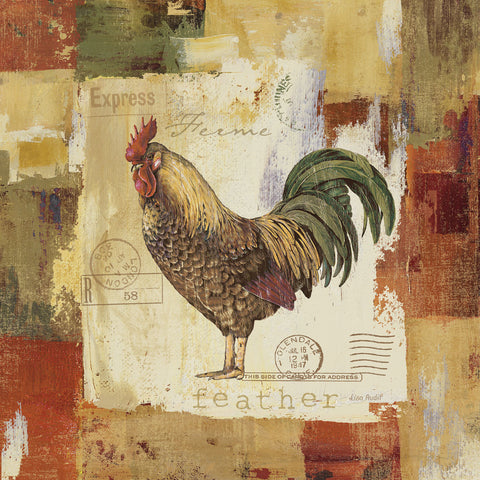 Lisa Audit - Colorful Rooster II