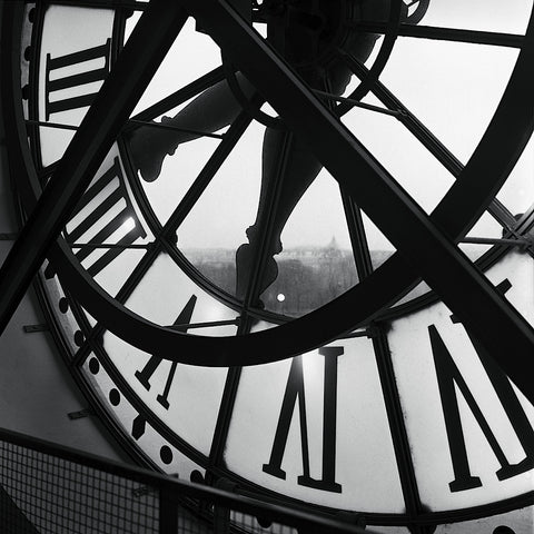 Orsay Clock -  Tom Artin - McGaw Graphics