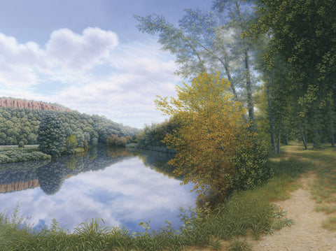Path Along the River -  Timothy Arzt - McGaw Graphics