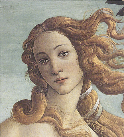 Sandro Botticelli - The Birth of Venus (detail)