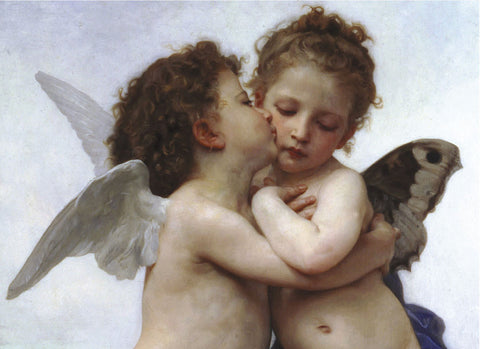 The First Kiss -  William-Adolphe Bouguereau - McGaw Graphics