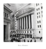 Bull Market -  Vintage Photography - McGaw Graphics