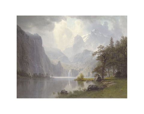 In the Mountains, 1867 -  Albert Bierstadt - McGaw Graphics