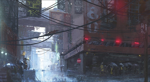Stéphane Belin - Japan Rain