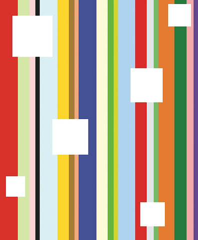 White Square on Stripe -  Dan Bleier - McGaw Graphics