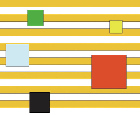 Color Block on Stripe -  Dan Bleier - McGaw Graphics