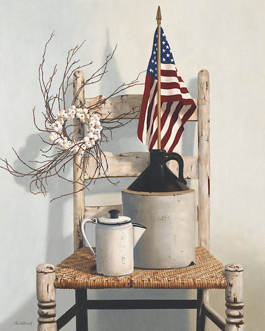 Cecile Baird - Chair with Jug and Flag