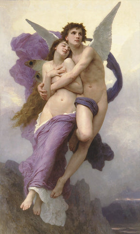 William-Adolphe Bouguereau - Ravishment of Psyche