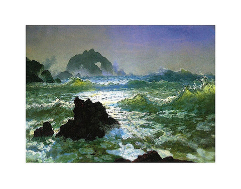 Seal Rock -  Albert Bierstadt - McGaw Graphics