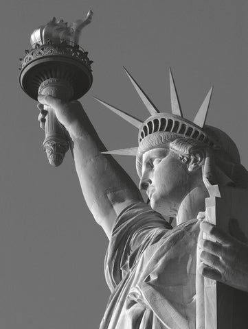 Liberty with Torch -  Chris Bliss - McGaw Graphics