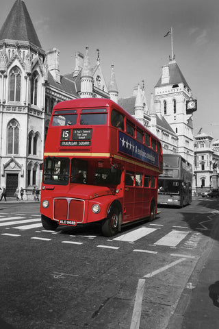 Red Bus London -  Chris Bliss - McGaw Graphics