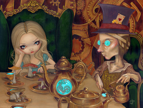 Alice and the Mad Hatter -  Jasmine Becket-Griffith - McGaw Graphics