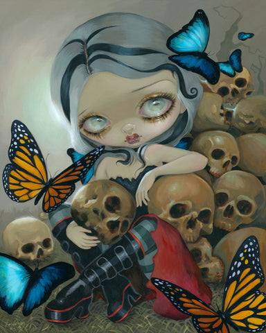 Butterflies and Bones -  Jasmine Becket-Griffith - McGaw Graphics