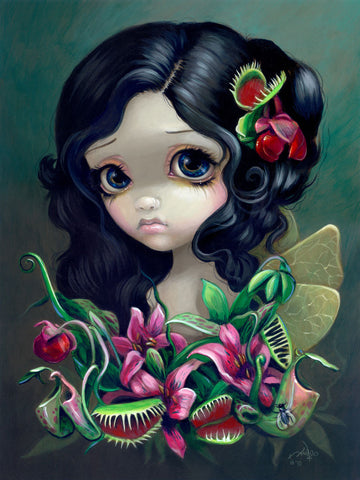Carnivorous Bouquet Fairy -  Jasmine Becket-Griffith - McGaw Graphics