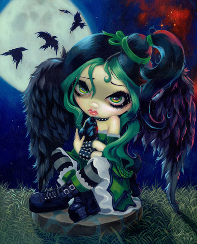 Jasmine Becket-Griffith - Perched and Sat and Nothing More