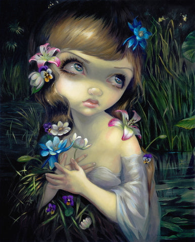Jasmine Becket-Griffith - Portrait of Ophelia