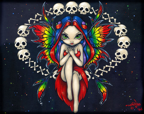 Jasmine Becket-Griffith - Rainbow of Bones