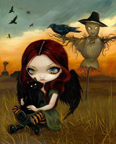 The Scarecrow -  Jasmine Becket-Griffith - McGaw Graphics