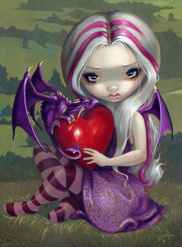 Jasmine Becket-Griffith - Valentine Dragon