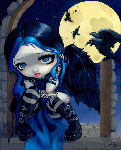 The Whispered Word Lenore -  Jasmine Becket-Griffith - McGaw Graphics