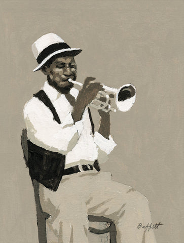 Cornet Player -  William Buffett - McGaw Graphics
