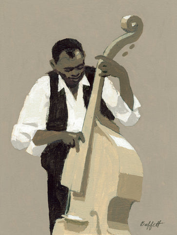 String Bass Player -  William Buffett - McGaw Graphics