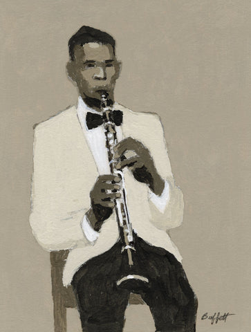 Clarinet Player -  William Buffett - McGaw Graphics