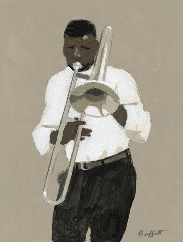 Trombone Player -  William Buffett - McGaw Graphics