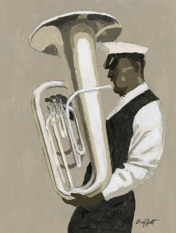 Tuba Player -  William Buffett - McGaw Graphics
