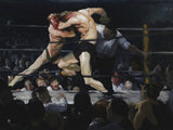 Stag at Sharkey's, 1909 -  George Bellows - McGaw Graphics