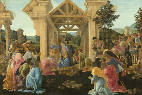 The Adoration of the Magi, ca. 1478-1482 -  Sandro Botticelli - McGaw Graphics