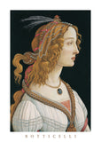 Idealized Portrait of a Lady (Portrait of Simonetta Vespucci as Nymph), 1480