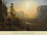 Yosemite Valley, Glacier Point Trail, ca. 1873 -  Albert Bierstadt - McGaw Graphics