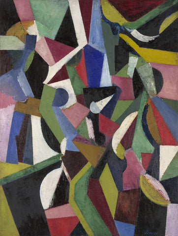 Composition I, 1916 -  Patrick Henry Bruce - McGaw Graphics