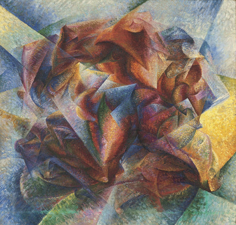Umberto Boccioni - Dynamism Of A Soccer Player, 1913