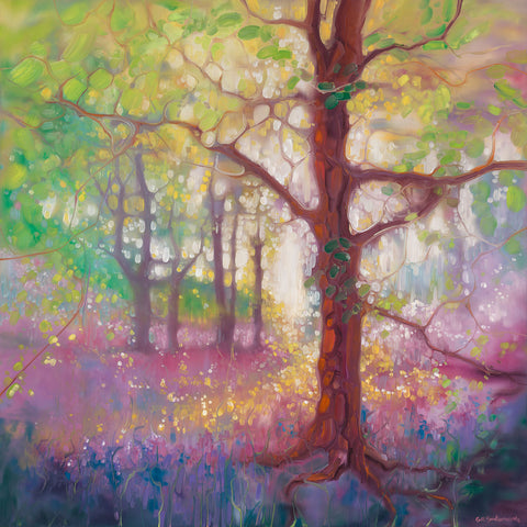 Gill Bustamante - April in the Forest