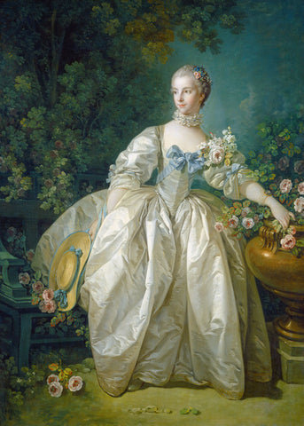 Madame Bergeret, possibly 1766 -  Francois Boucher - McGaw Graphics