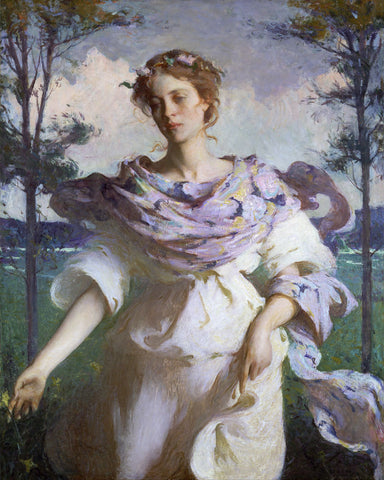 Summer -  Frank Weston Benson - McGaw Graphics
