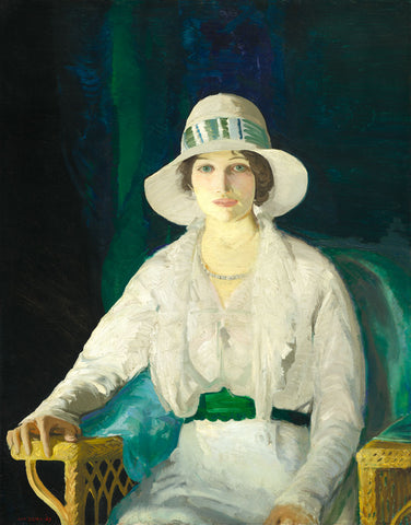 George Bellows - Florence Davey, 1914
