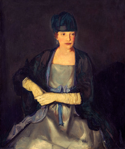 Maude Dale, 1919 -  George Bellows - McGaw Graphics