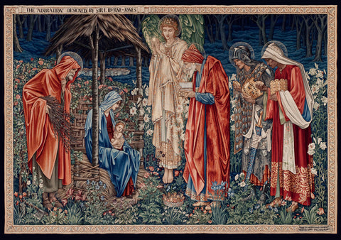 The Adoration of the Magi, 1904 -  Edward Burne-Jones - McGaw Graphics