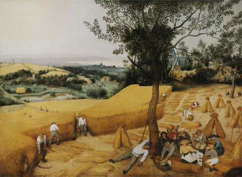 The Harvesters, 1565 -  Pieter Bruegel the Elder - McGaw Graphics